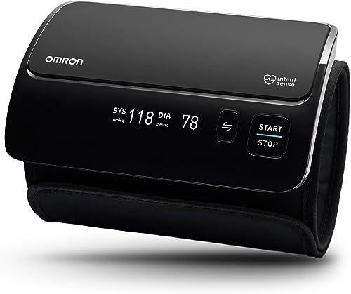 OMRON EVOLV Tensiomètre Bras Électronique Tout-en-un, sans tube, Connexion Bluetooth pour l'Application Smartphone OM...