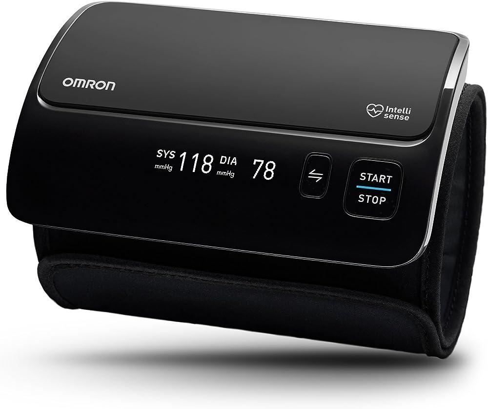 Omron healthcare evolv misuratore pressione sanguigna da braccio, tutto in 1, senza cavo, connessione bluetoot HEM-7600T-E