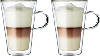 Bodum Canteen Kaffekopp, genomskinlig, 2 x 400 ml