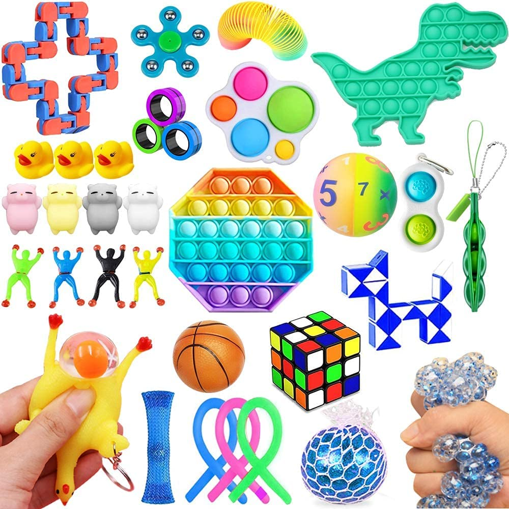 Tucson Mall quality assurance 32 Pack Fidget Toys Stress Bundle Relief Set Toy Sensory