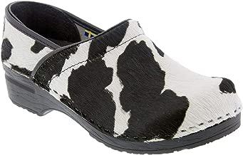 sanita cow clogs