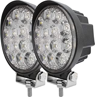 Analytical 27w 12v Led Work Light 60 Degree High Power Offroad Light Round Off Road Led Work Lamp Flood Lamp For Boating Hunting Top High Resilience Car Lights