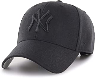 '47 Brand New York Yankees MVP Hat Cap MLB Black/Black