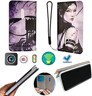 FY Flip Case For Tecno Pop 3 Plus Cover Flip PU Leather + Silicone Ring case Fixed ZSXN