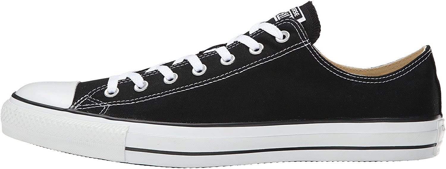 Converse Chuck Taylor All Star OX Black(Size  9 US Men's)