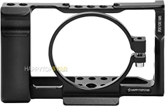 Cage Camera Frame Compatible with Sony RX100 VI RX100M6 RX100 M6 RX100 6 Quick Release L-Bracket & Mount Vertical Grip Custom