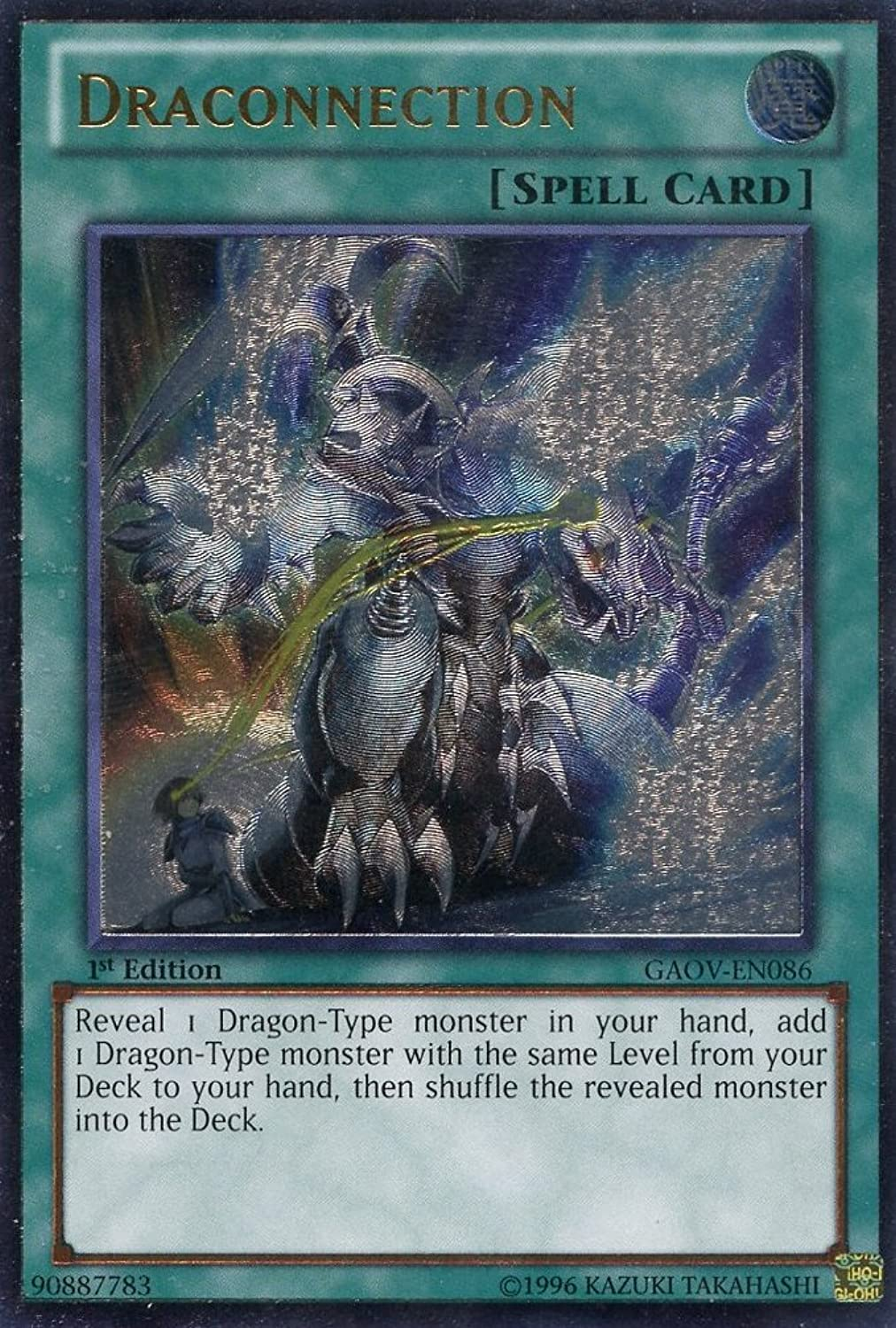 Yu-Gi-Oh  - Draconnection (GAOV-EN086) - Galactic Overlord - 1st Edition - Ultimate Rare