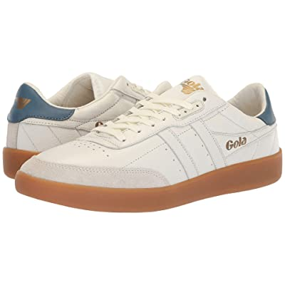 Gola Inca Leather (Off-White/Baltic/Gum) Men
