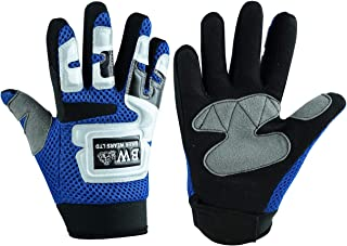 1 X S Bruce Dillon pair Winter Motorcycle Gloves Waterproof Warm Motocross Racing Motos Motorbike Cycling Glove Black Blue Red Polyester /& Cotton