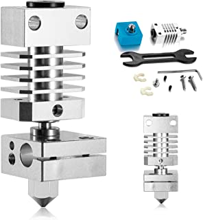 0.4mm All Metal Hotend Kit for Creality CR-10 / CR-10S /CR-10/CR-10 Mini/CR-20 /CR-20 Pro Ender 2, 3, 5 Printers