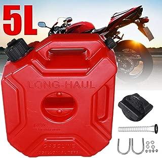Areyourshop Jerrycan portable en plastique pour r/éservoir de carburant essence ATV UTV Moto voiture