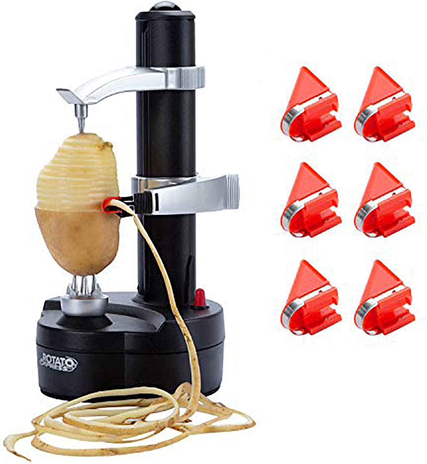 DRROT Automatic Electric Potato OFFicial New Free Shipping Peeler Blades - Replacement 6