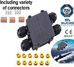 //étanche IP68/Compression M8/M12/M16/M20/M24/M24/Noir ou blanc Noir Sucre auxiliaire/® presse-/étoupes/ 1 M8