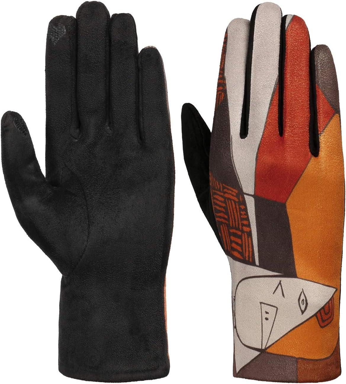 Lipodo Art Pattern Women´s Gloves Women -