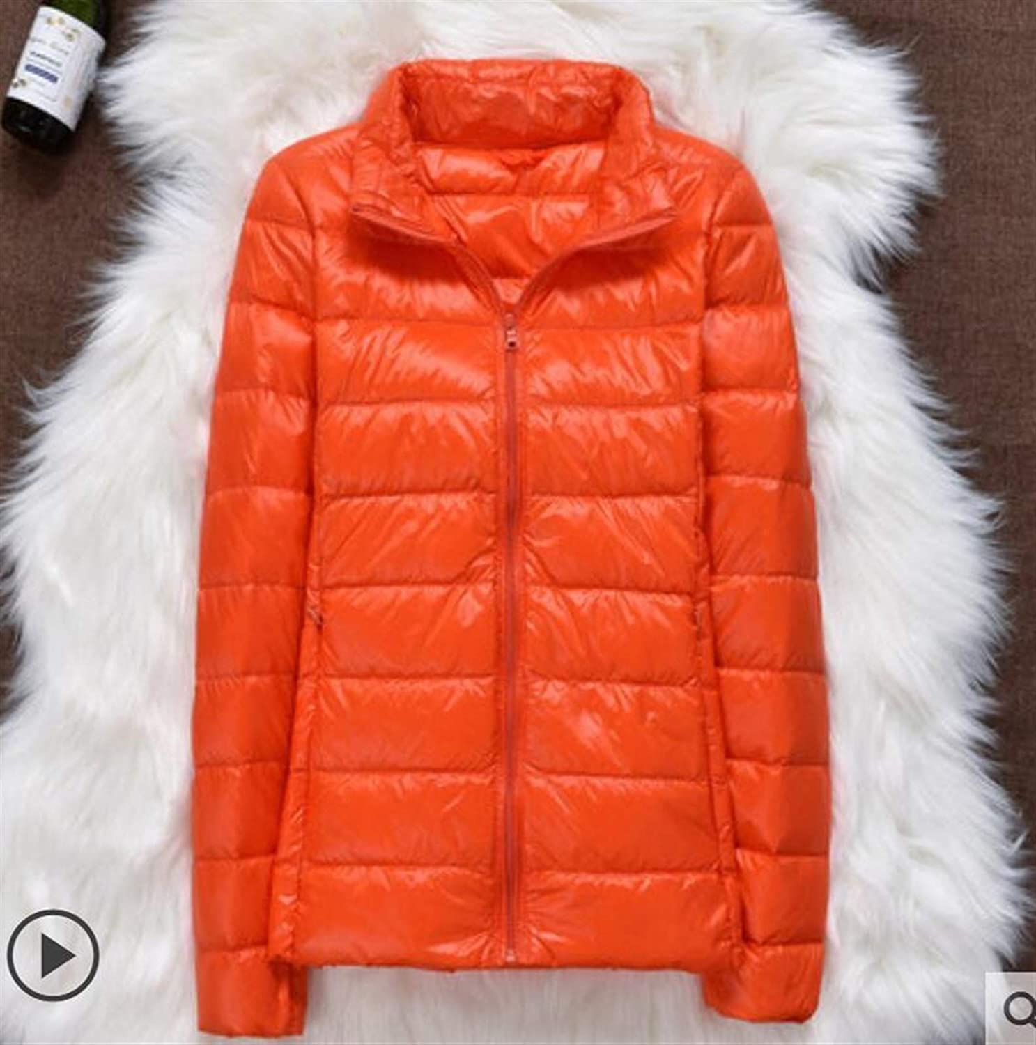 Thickened Popular brand Down Jacket Leather Plaid Coat New Light Sale special price Winter Ultra