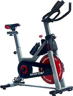 comprar comparacion ECO-DE Bicicleta Spinning Fit Pro. Uso semiprofesional con pulsómetro, Pantalla LCD y Resistencia Variable. Estabilizadore...