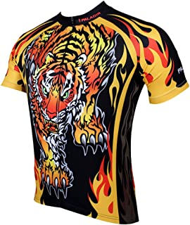 Paladin Special Cycling Men's Short Sleeve Jersey Cycling Clothing Top Wear Tiger
