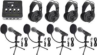 Best 4 person podcast setup Reviews