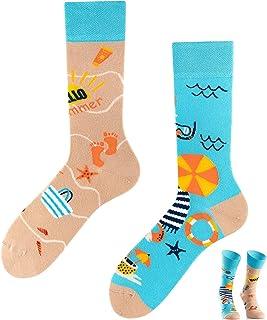 TODO COLOURS Calcetines casuales mixtos, para vacaciones, calcetines coloridos para individualistas