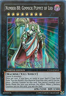 Yu-Gi-Oh! - Number 88: Gimmick Puppet of Leo (CT10-EN013) - 2013 Collectors Tins - Limited Edition - Super Rare
