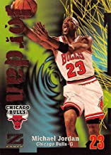 1997-98 Z-Force Basketball #23 Michael Jordan Chicago Bulls Official NBA Trading Card From Fleer Skybox