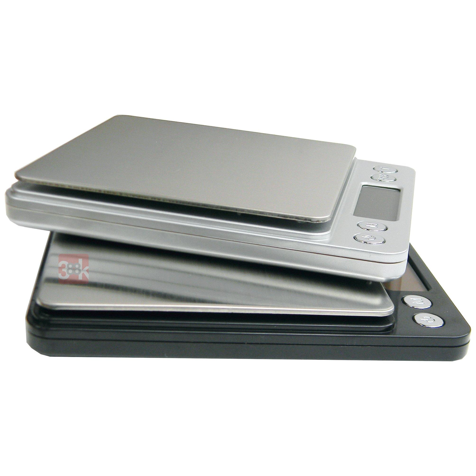 Starke Media avec 2 plateaux de pes/ée Balance de pr/écision Pro 0.01g Max 500g Precison 0.01G // Max 500 Gr Taille XL