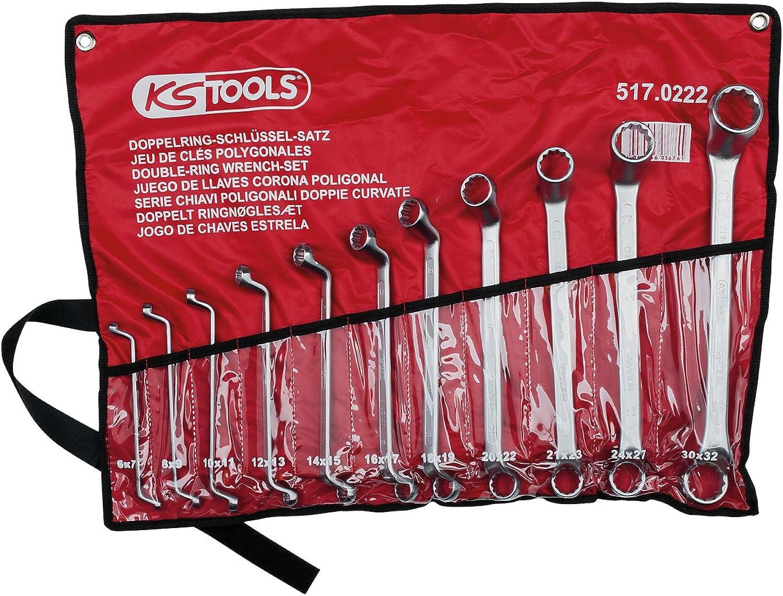 KS Tools 517.0222 CLASSIC Doppel-Ringschlüssel-Satz, gekröpft, 11-tlg. 6-32mm B001ECR83K B001ECR83K B001ECR83K | Lassen Sie unsere Produkte in die Welt gehen  43fa3a