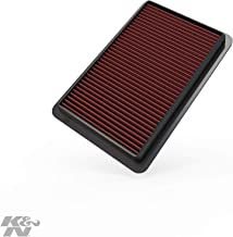 K&N engine air filter, washable and reusable:  2010-2019 Mazda L4 2.0/2.3/2.5L (CX-5, 3, 6, Atenza, Biante, Premacy, Axela) 33-2480