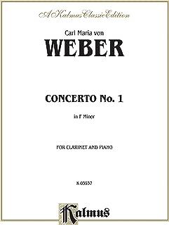 Clarinet Concerto No. 1 in F Minor, Op. 73 (Orch.): Part(s) (Kalmus Edition)