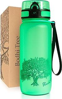 Bodhi Tree Waterfles - Drinkfles - Lekvrij, Licht - met Filter en Polsriem - BPA Vrij - Sportfles voor Fitness, Sport, Sch...