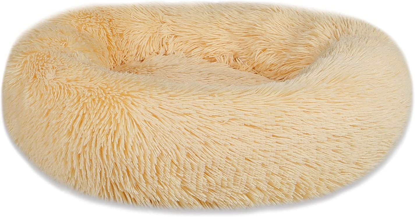 Breeze Touch Calming Nippon regular agency Dog Bed for Medium 1 year warranty Small Comfy Donu Dogs
