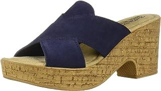 Bella Vita Women's Lor-Italy Slide Sandal Heeled