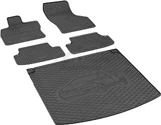 Fußmatten Seat Leon 5F ab 2012 - Schwarz Autoteppiche Nadelfilz 4tlg