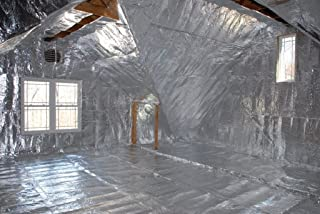 MWS 1000sqft Radiant Barrier Solar Attic Foil Reflective NASA Insulation 2x500 perf