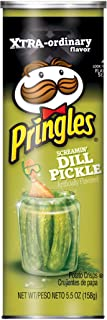 Pringles Screamin' Dill Pickle Potato Crisps, 5.5 oz(packaging may vary)