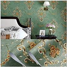 Wallpaper PVC Self-adhesive Wallpaper, Retro American 3D Wallpaper, Living Room Bedroom Background Wall Decoration Sticker...