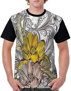 Cotton T-Shirt,Comic Book Style Cubes Fashion Personality Customization