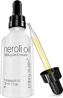 Neroli Essential Oil - 1 oz Bottle - Vegan Certified, Cruelty-Free, Organic, 100% Pure Undiluted Citrus Aurantium, Therape...