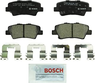 Bosch BC1544 QuietCast Premium Ceramic Disc Brake Pad Set For Hyundai: 2012-2017 Accent, 2011-2016 Elantra, 2013-2014 Elantra Coupe; Kia: 2014-2017 Optima, 2012-2017 Rio; Rear