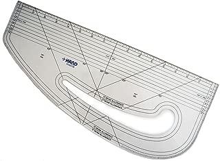 HAND 6511B Imperial Pattern Marking Ruler - Hard Plastic