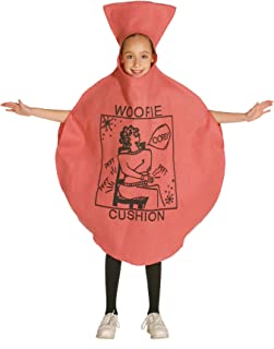 Woopie Cushion Childrens Halloween Costume Red Tootin Balloon Suit