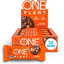 ONE Plant Protein Bars, Chocolate Peanut Butter, Vegan, Gluten Free Protein Bars with 12g Protein & Only 1g Sugar, Guilt-F...