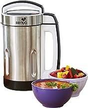 Senya SYCP-HB002 INOX Blender Chauffant mixeur à Soupe Cook & Heat, 1.6 liters