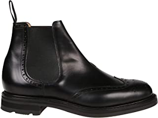 Church's Luxury Fashion Mens ETC1579AFWF0CY2 Black Ankle Boots | Fall Winter 19