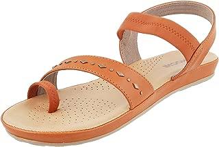 Mochi Women Black Synthetic Sandals (44-9818)