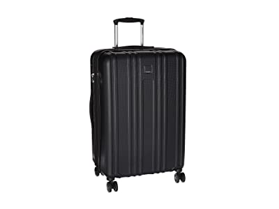Hedgren Transit Gate Medium Expandable Spinner (Black) Luggage