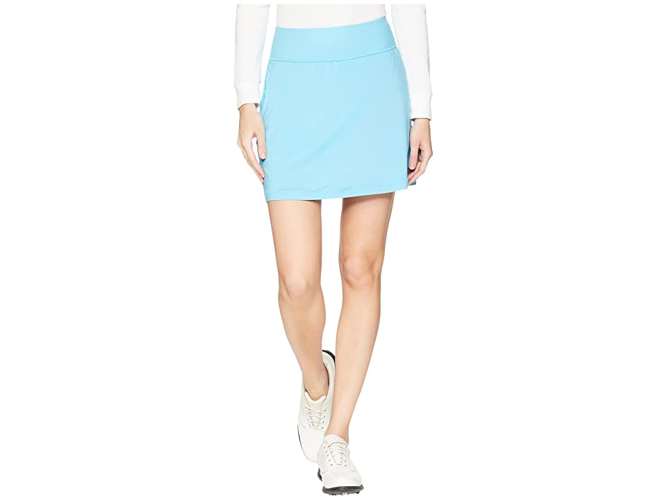 PUMA Golf PWRSHAPE Solid Knit Skirt (Aquarius) Women