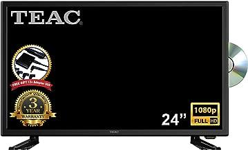 "TEAC 24"" Full HD TV DVD Combo | MPEG 4, USB Recording| 12V for Caravan/Boat | PC Audio Input | Wall-Mountable | Multi-Region DVD | Multimedia Playback w Remote | 3 Year Warranty"