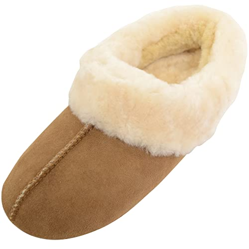 da9429df5cbe4 Soft Sheepskin Slippers: Amazon.co.uk