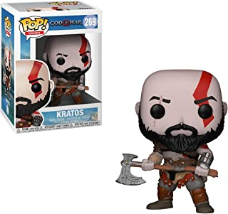 Funko Pop! Games: God of War - Kratos with Axe Collectible Figure